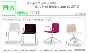 newsletter phs mobilier janvier 2013