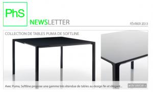 newsletter phs mobilier fevrier 2013