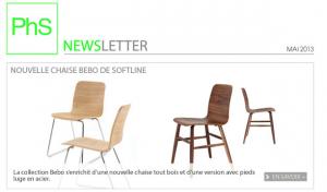 newsletter phs mobilier mai 2013