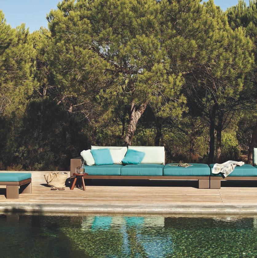 canape landscape alu sofa