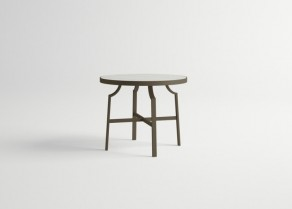 Agosto-Round-Table-DARK-BROWN-Old-White