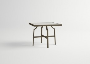 Agosto-Square-Table-DARK-BROWN-Old-White