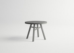 Pulvis-Round-Table-GRAPHITE-Stone