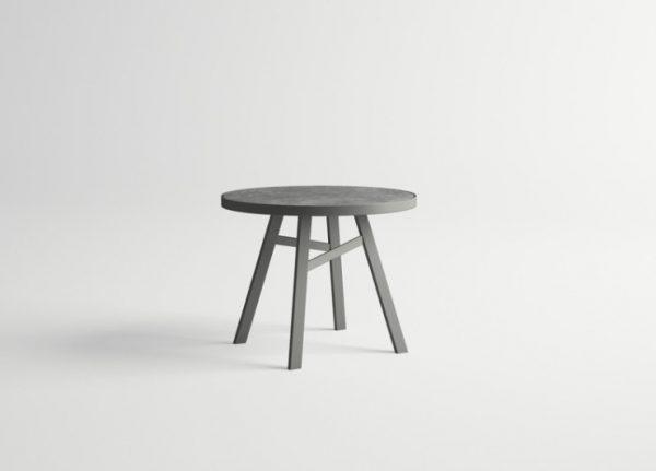 Pulvis-Round-Table-GRAPHITE-Stone
