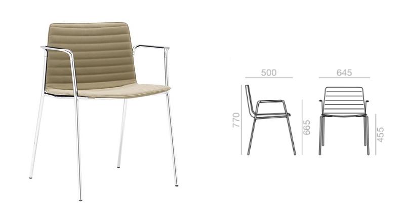 chaise et plan so 1303-1
