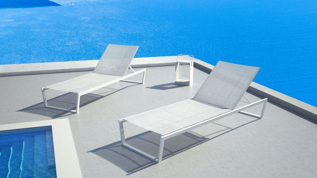 En stock les chaises longues costa et pulvis de 10deka for Chaises longues confortables