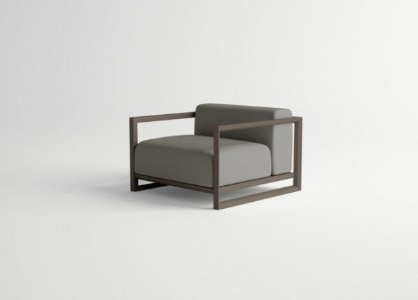 Nubes-Armchair-DARK-BROWN-Brisa-Grey